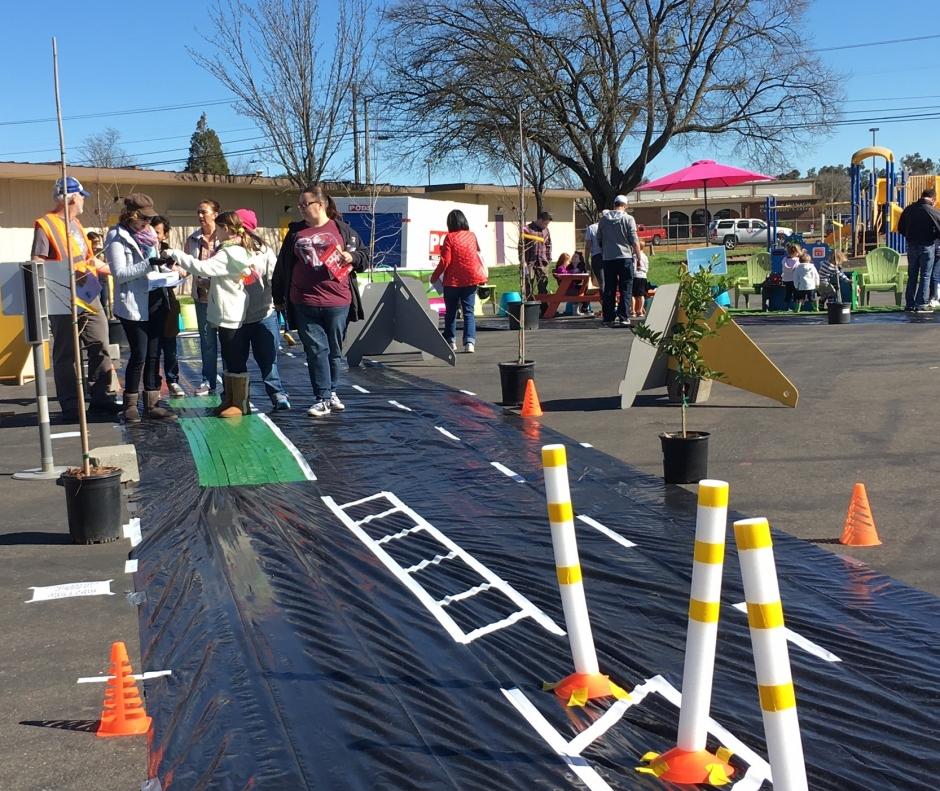 Community engagement in Sacramento