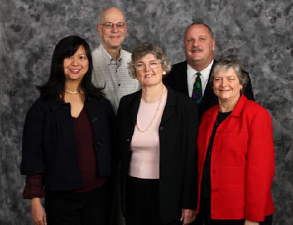 Trinh Nguyen, Walt Seifert, Anne Geraghty, and SACOG Board Members Rusty Dupray and Heather Fargo