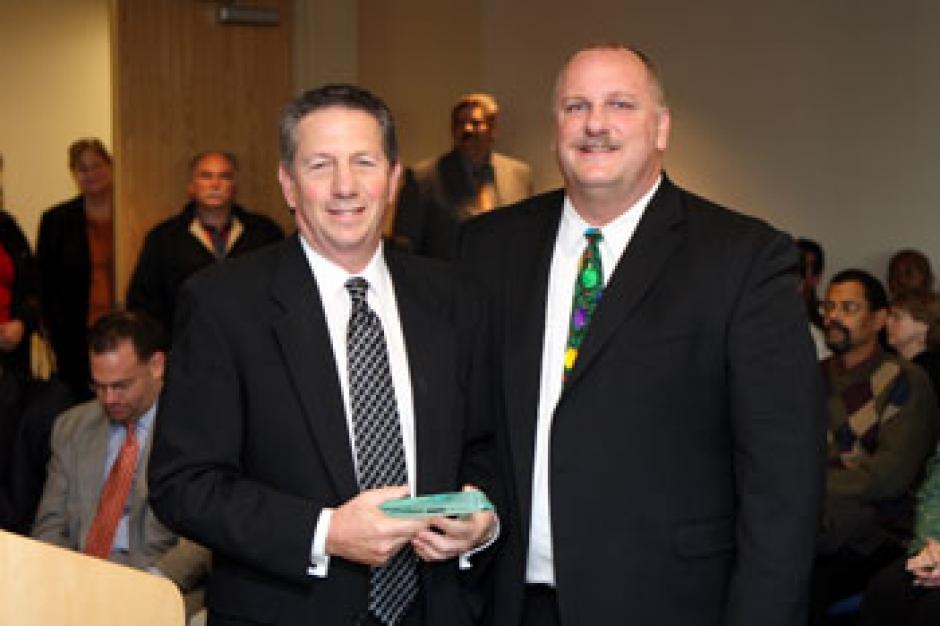 Elliott Troshinsky, and SACOG Board member Rusty Dupray