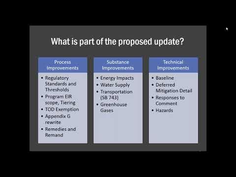 Updates to CEQA Guidelines & SB 743