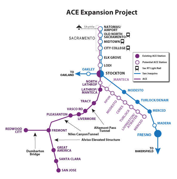 A map of the ACE expansion project