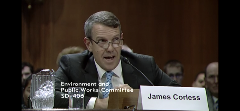 SACOG Executive Director James Corless testifying in the US Senate.