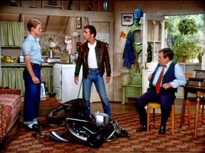 "Happy Days' ""The Fonz"" lived in an Accessory Dwelling Unit over the Cunninghams' garage in 1950s-era Milwaukee, Wisconsin."