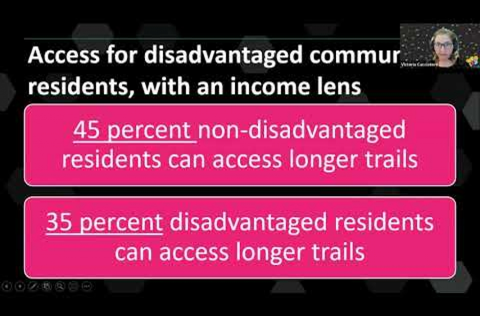 Accessibility, goals, and priorities for regional trails