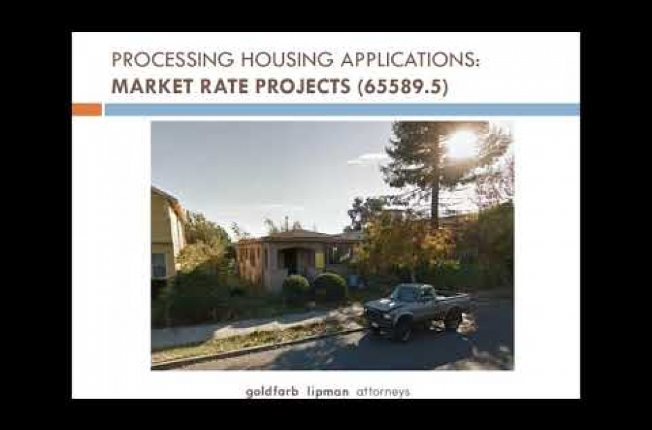 2017 California Housing Legislation Webinar