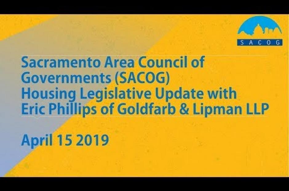 2019 Housing Legislative Update Webinar
