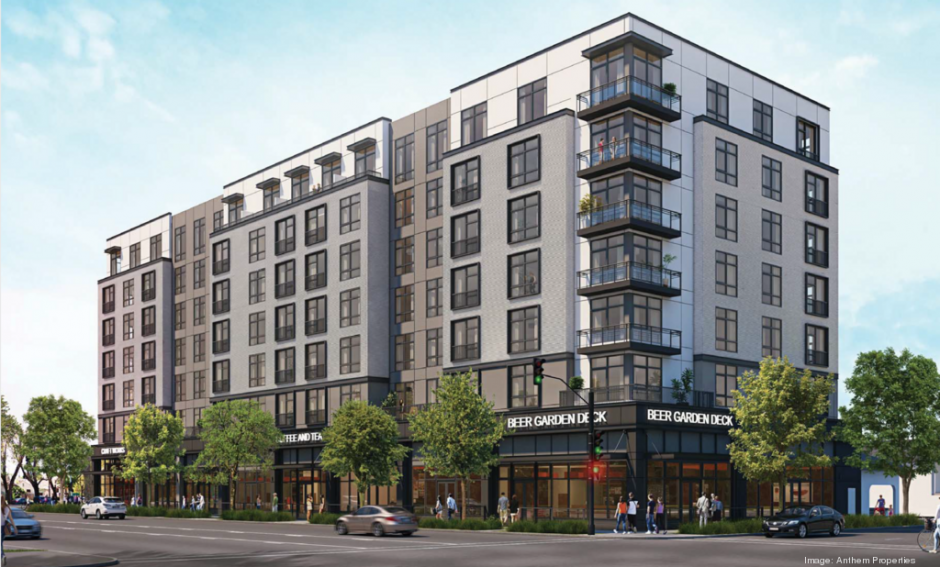 A rendering of the planned mixed-use development at 15th and S in Sacramento, one of the projects that is using SACOG's Sustainable Communities Strategy as an environmental document under CEQA.