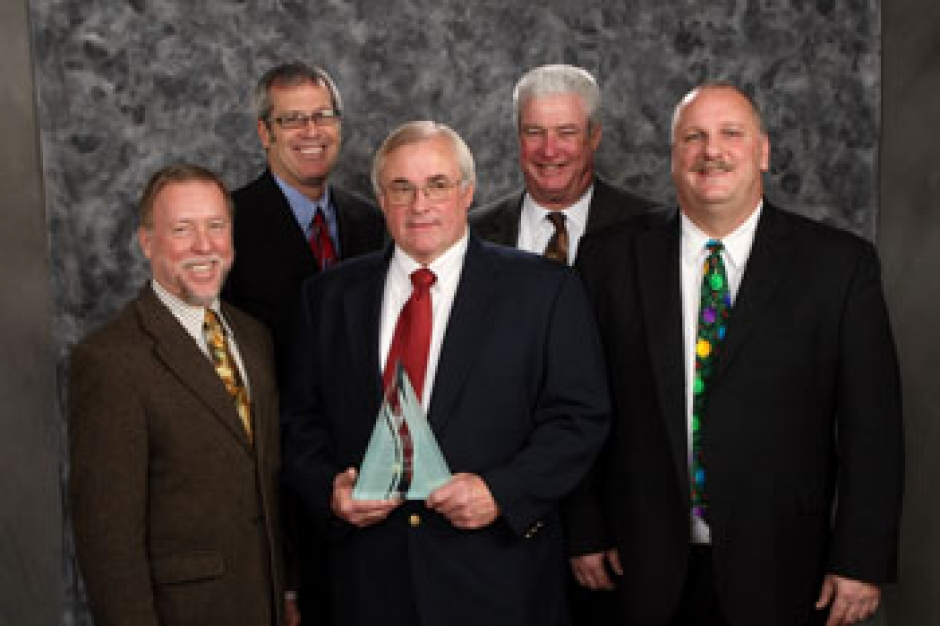 SACOG Board Member Tom Cosgrove, Gregg Albright, Steve Fretwell, Bill Bronte, and SACOG Board Member Rusty Dupray